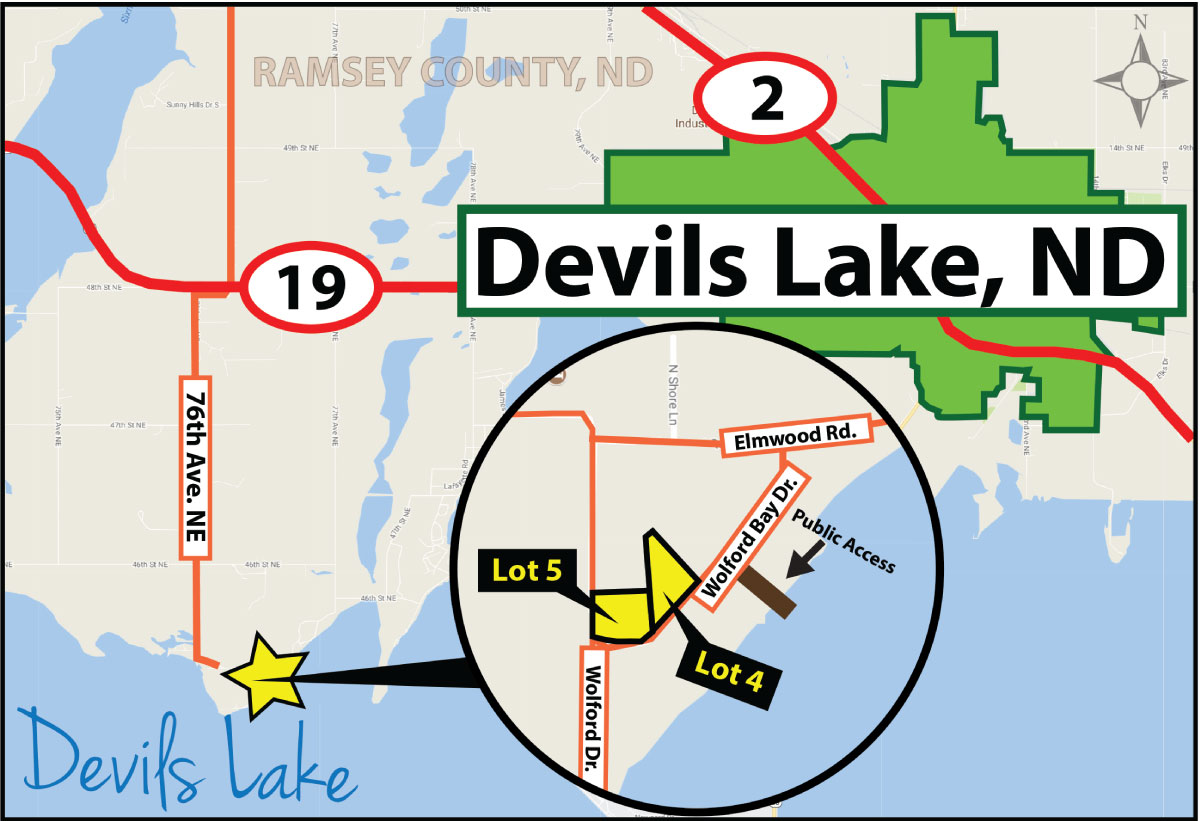 Lake Lots For Sale Devils Lake ND Pifers